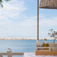 Enjoying the scenery of Aegean