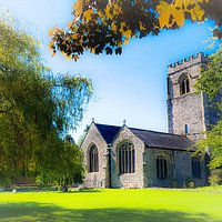St Mary's Church & Churchyard (art)