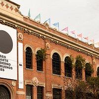 Nueva imagen de la fachada del Museo