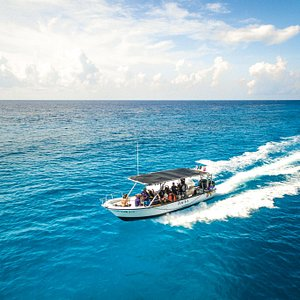 Zacil-Ha, one of our dive boats for our local dives here in Playa del Carmen