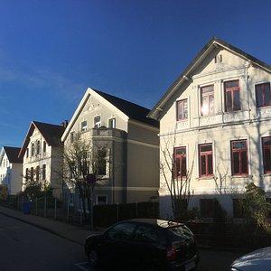 """Haareneschviertel - Architekturstil """"Oldenburger Hundehütte"""""""