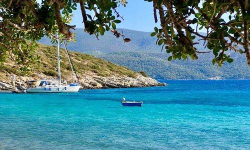 Samos e sullo sfondo la Turchia