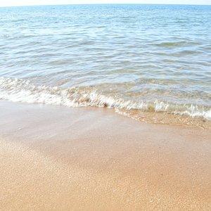 Bellissima spiaggia con mare cristallino