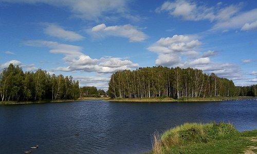 Красный бор. Ключевое озеро.