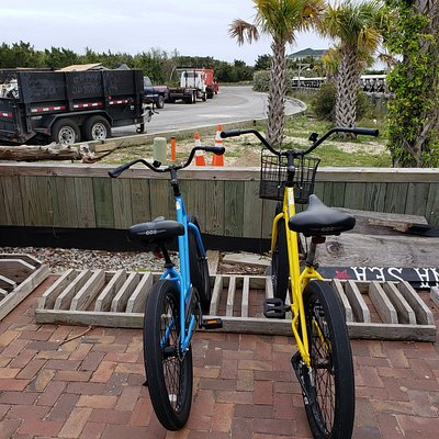 The bikes we rented
