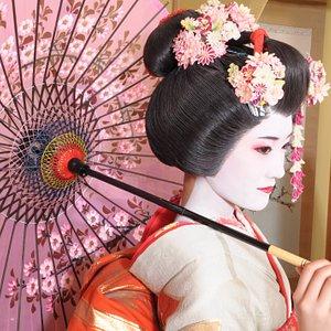 舞妓体験プラン 10,000円(税別) 2L写真(お写真補正付き)