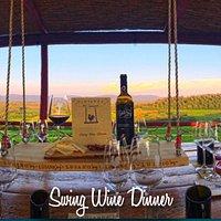 La nostra ultima invenzione: la Swing Wine Dinner