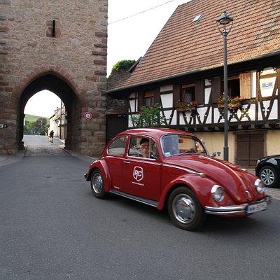Visite de l'Alsace (circuit voiture ancienne)