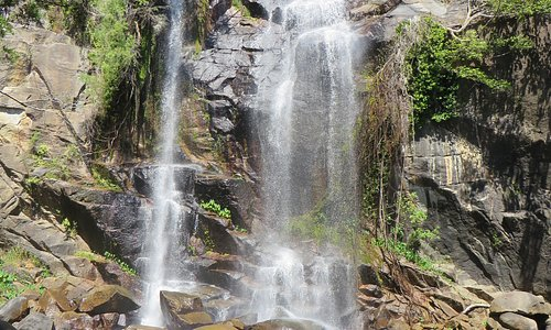 Trevethan Falls in August 2019
