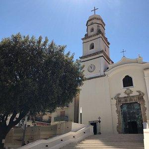 Chiesa della Natività di Maria edificata nel 1608 a Roccadaspide (SA).