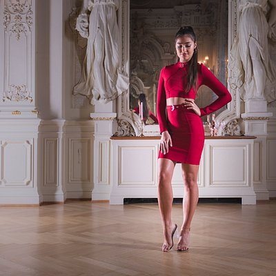 Shooting au Palace dressed by Colia