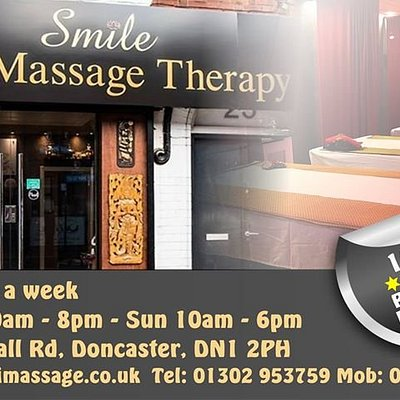 Smile Doncasters only Professional Massage Therapy Centre ,With over 1000 recommendations on social media