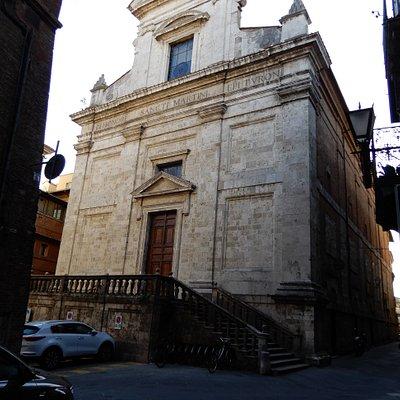 Exterior of Chiesa di San Martino