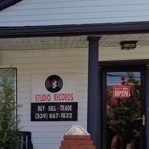 Studio Records in the Pearl District, Tulsa, Oklahoma. Thousands of vinyl LP's!