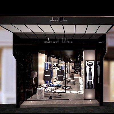 New store front, Bangkok tailor