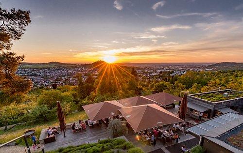 Einer unserer wunderschönen Sonnenuntergänge im Sommer!