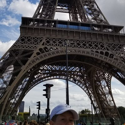 Eiffel Tower.  Not bad considering this was taken by me in a wheelchair