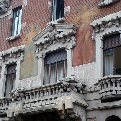 La facciata (particolare)