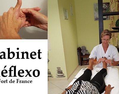Réflexologie auriculaire, faciale, plantaire, palmaire et combinée