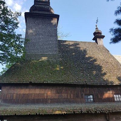 Starý kostel v Kolochavě. Ukrývá mnohé, co je zajímavé zejména pro Čechy