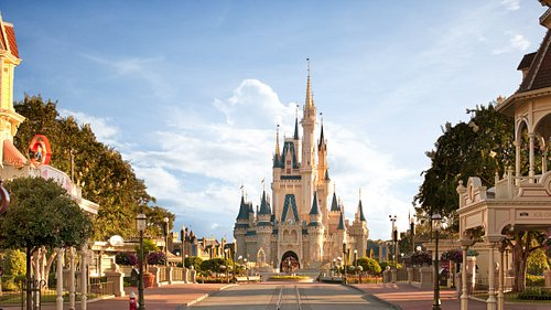 Cinderella's Castle at Magic Kingdom Park