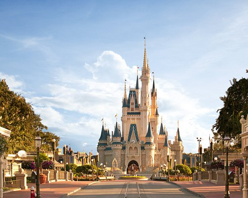 Cinderella's Castle at Magic Kingdom Park