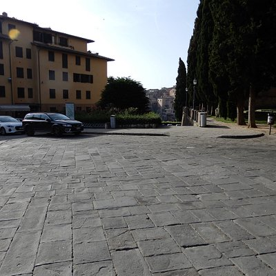 Another view of the Piazza
