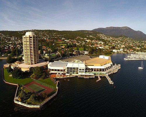 Wrest Point Hotel & Casino - Australia's first casino, located in Hobart, Tasmania.