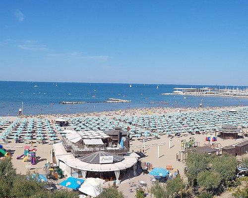 Foto panoramica del Lido dall'Hotel Paloma