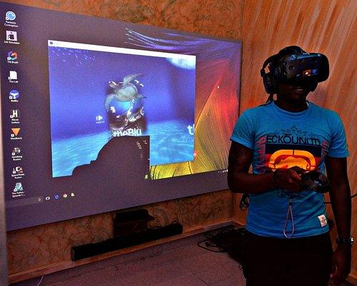 VR Gaming at Tric
