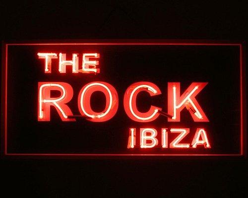 The Rock bar ibiza