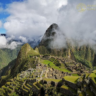 Machu Picchu Shrouded In Clouds