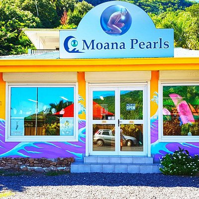 Visit our Pearl store on the island of Moorea located in the famous Cook's bay. Call 40565073 or 87286858 for free transportation to visit our Moorea Pearl Store.