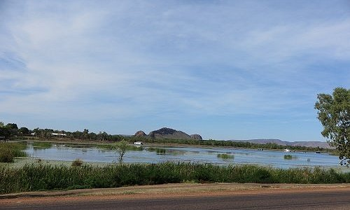 From Victoria Highway Across The lagoon