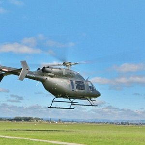 Our Beautiful Bell 427 twin turbine helicopter