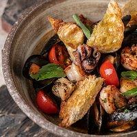 Морепродукты по-сицилийски