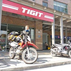 Tigit Motorbikes Head office in Saigon