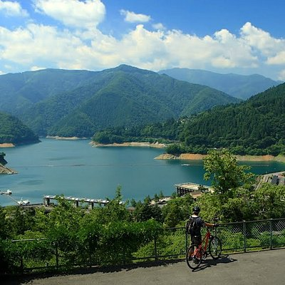 Cycle in the mountains of west Tokyo.Experience the historical old road to Lake Okutama