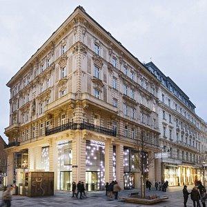 Swarovski Kristallwelten Store Wien von Außen