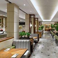 Veranda section at Grand Cafe Grand Hyatt Jakarta