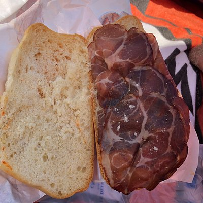 panini da 9€ con capocollo