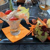 Apéritif, entrées, plats et dessert
