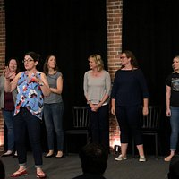 You Should Smile More, all-female improv and comedy at Maine Rep.