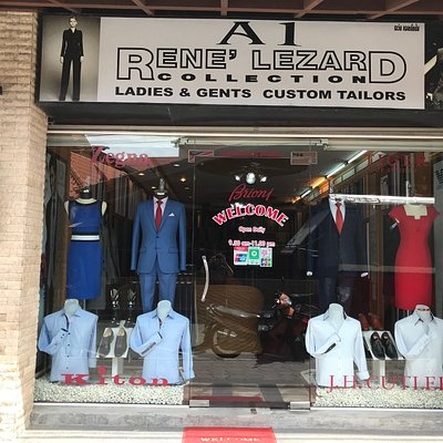 A1 Rene' Lezard ladies and gents custom tailor on ko samui