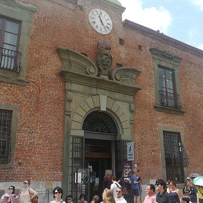 Информационно-туристический центр (Ufficio di lnformazione e Assistenza Turistica a Pisa, Piazza del Duomo, 7, июль.