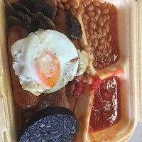 Medium breakfast to take out. Great value.