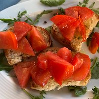 Bruschette di pomodoro