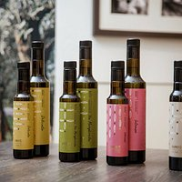 The Brist range of extra virgin olive oils.