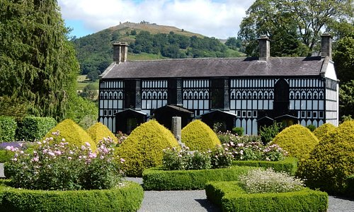 Plas Newydd House and Museum. Home to the 'Ladies of Llangollen.