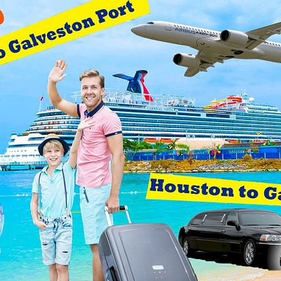 We take your family directly and safely to the cruise port or hotel in Galveston. Free booster and car seats are available upon request if needed. Call and book now. Compare Fares & Book. Live Chat Available 24/7. 100% No Junk Fees. Best service guarantee.